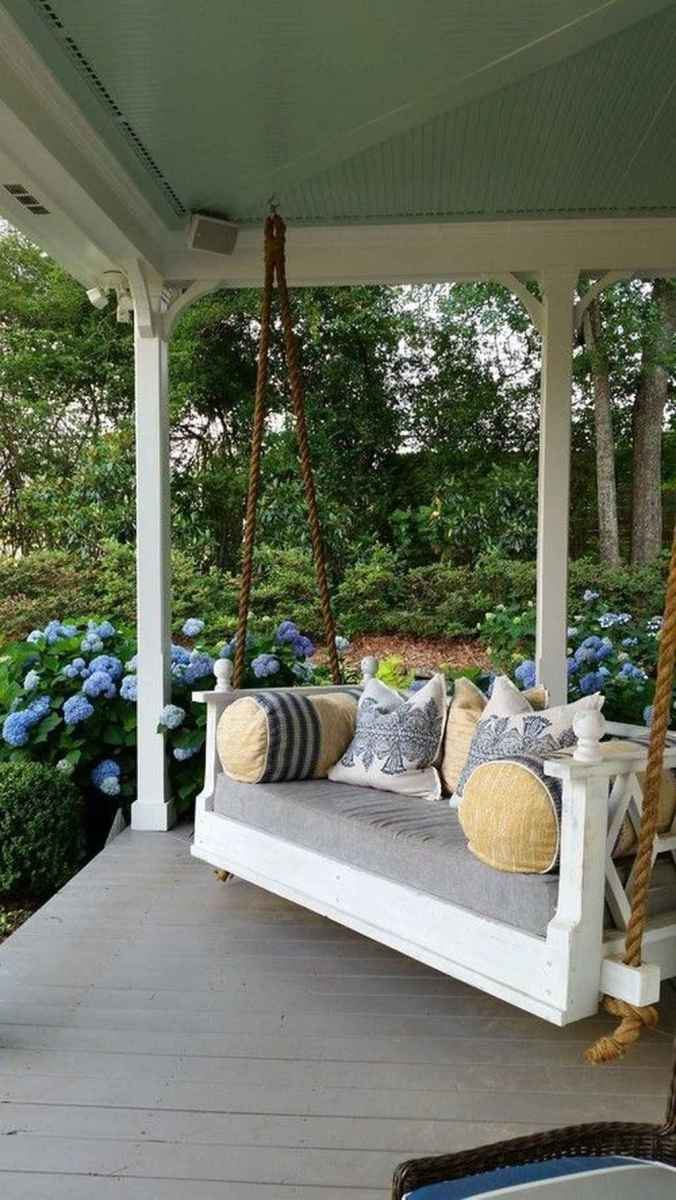 77 amazing summer front porch seating ideas