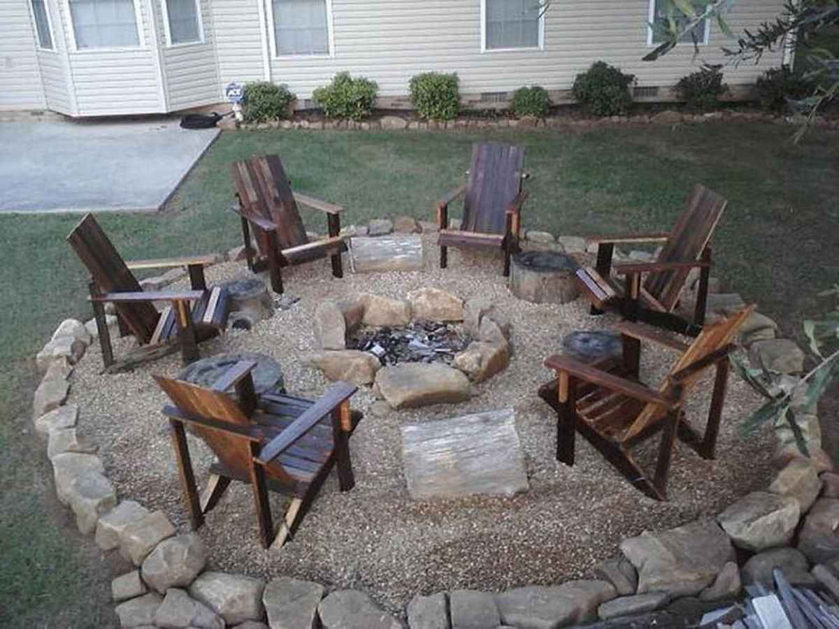 82 cozy outdoor fire pit seating design ideas for backyard