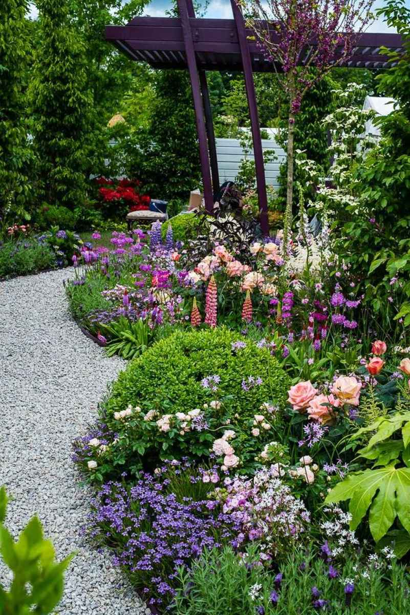 91 beautiful front yard cottage garden inspiration ideas