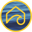 Surfside Structured Sober Living water/yellow logo