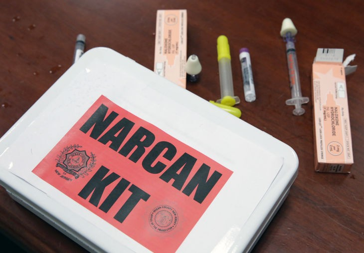 NJ Offering Free Narcan in June