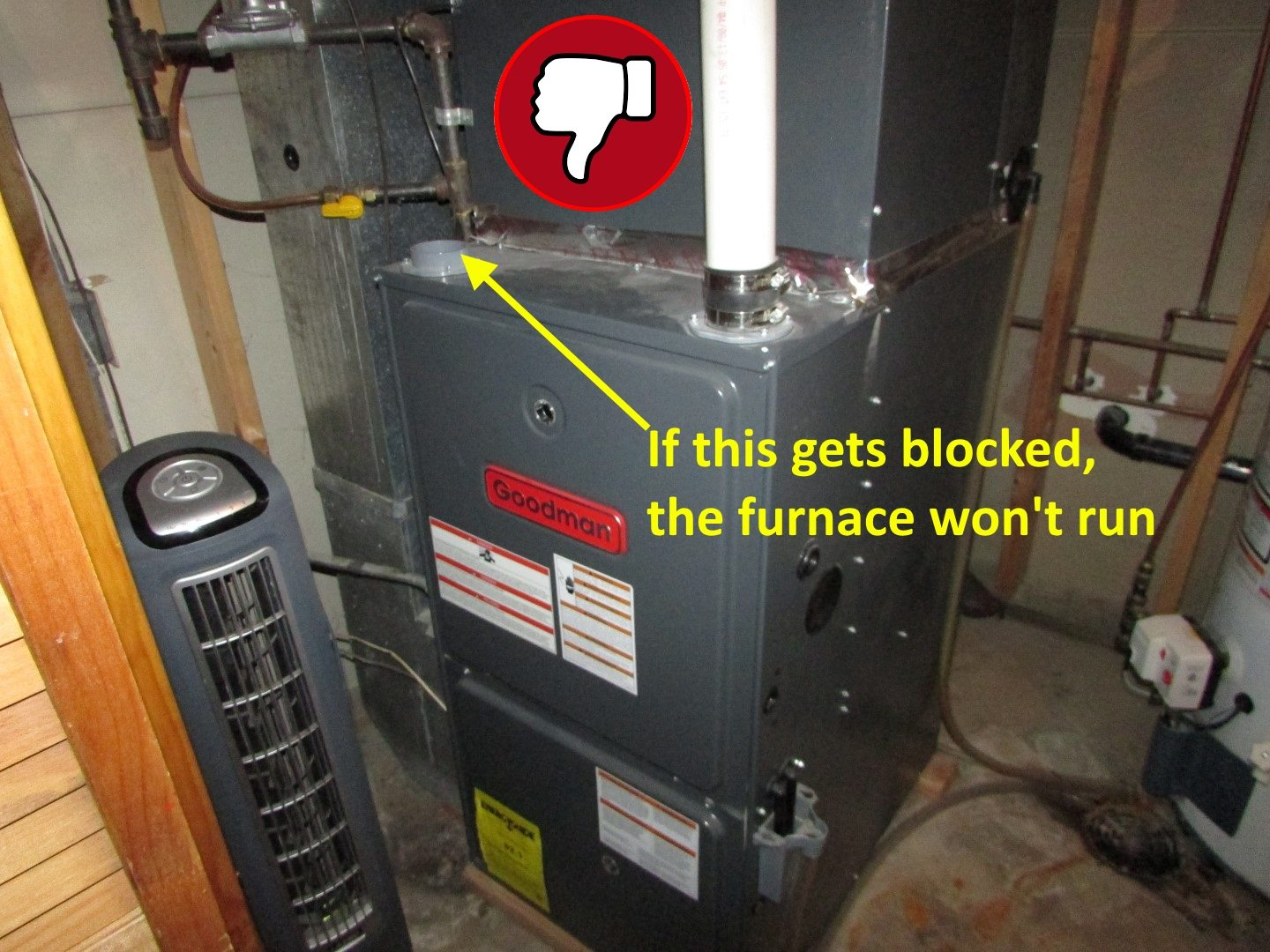 install a high efficiency furnace with