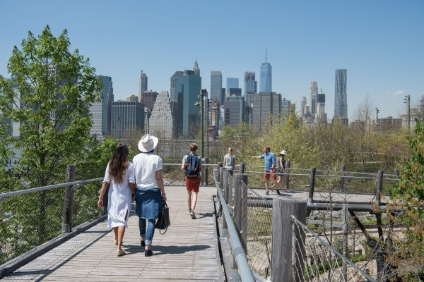 BOUNCING BACK IN BROOKLYN BRIDGE PARK - Structure Tone