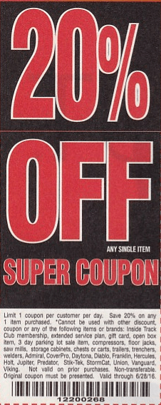 Harbor Freight Coupons Expiring 4 30 16 Struggleville