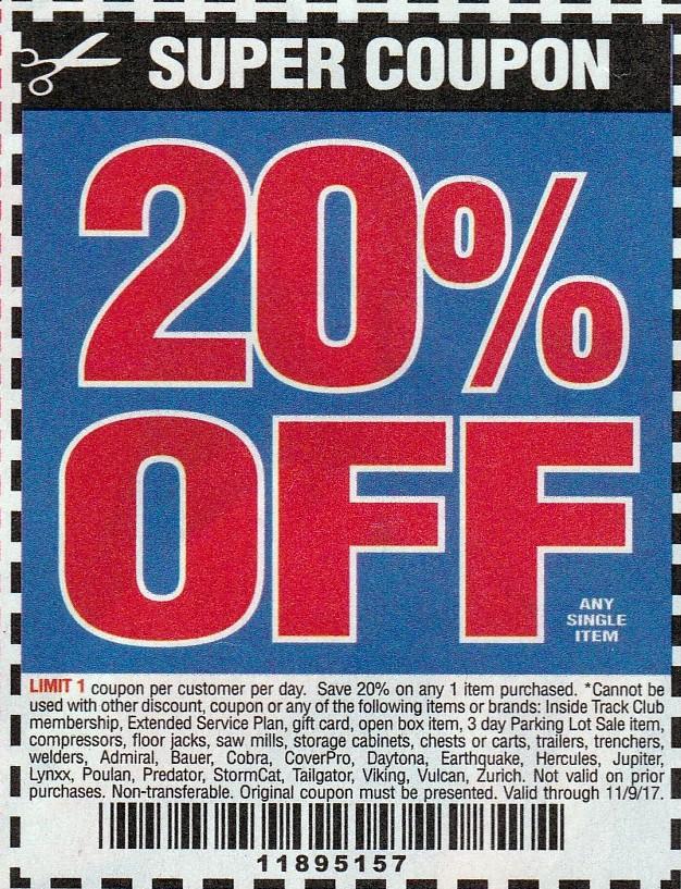 20 coupon