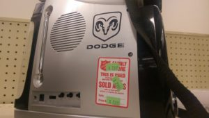 Dodge Flash Light Radio Combo