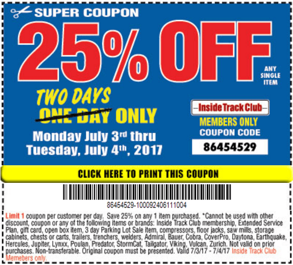 25 Coupon Harbor Freight Apple Iphone 5s