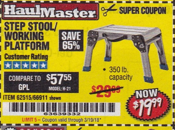 Harbor Freight Coupons Expiring 3/19/18 – Struggleville