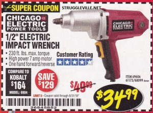 Harbor Freight August Coupon Catalog – Expires 8/31/18