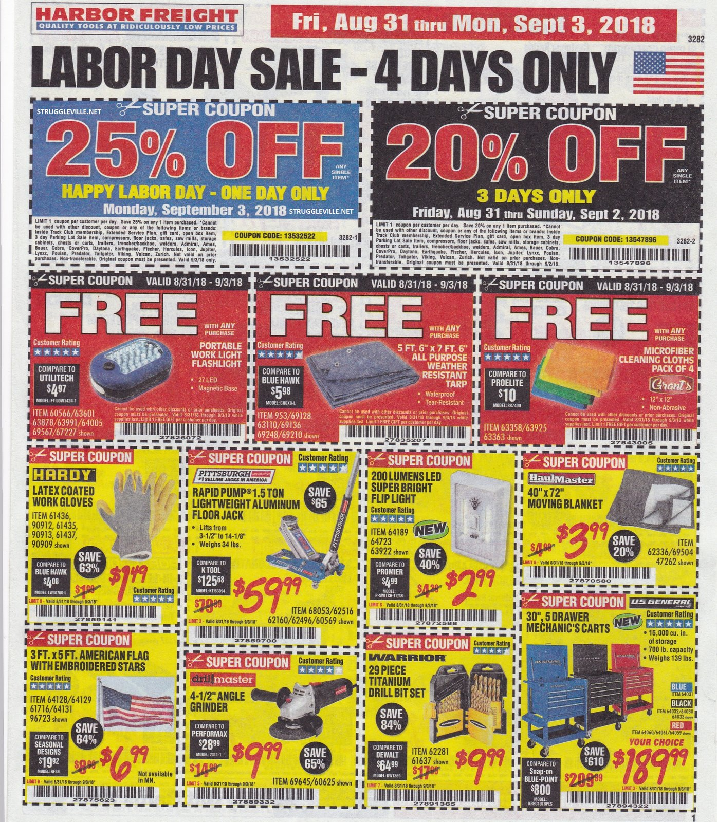 Harbor freight sale coupons