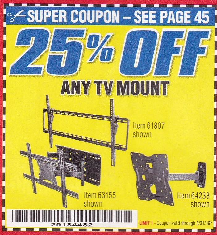 Harbor Freight 20% Off Coupon!