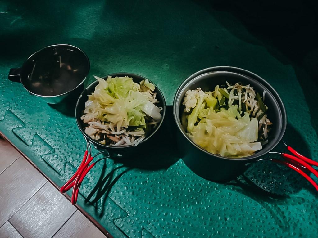 天池廚房晚餐