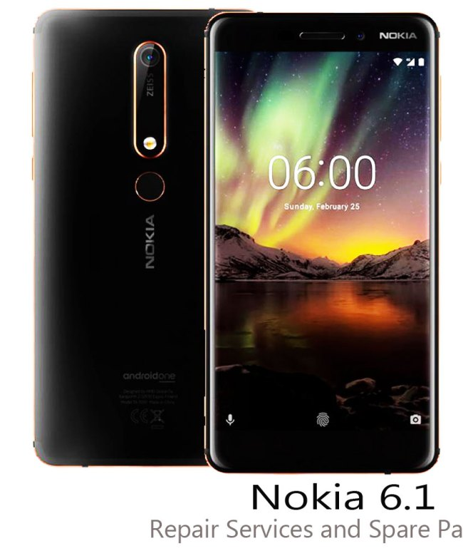 Nokia-6.1-Repair-services-and-spare-parts