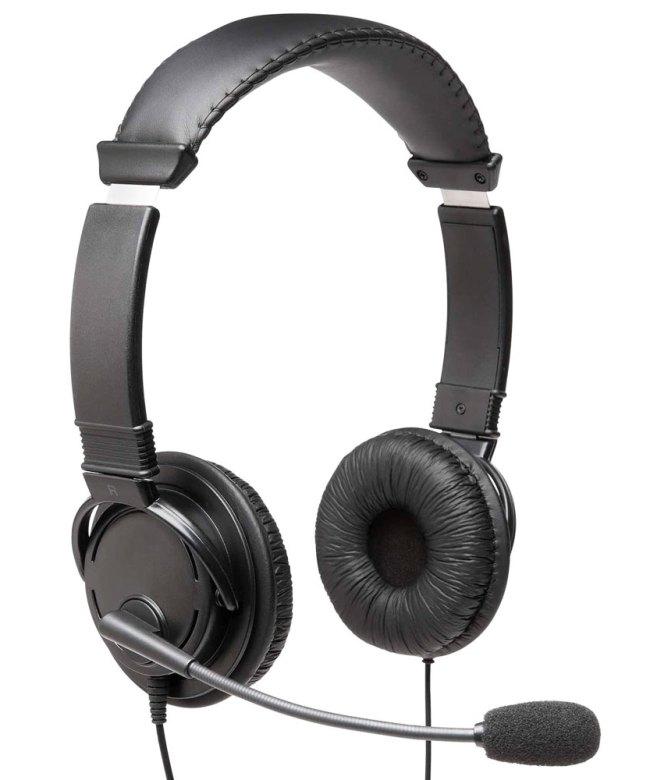 Kensington-Hi-Fi-Headphones-with-Microphone-(K97603WW)---Black