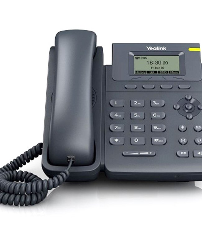 Yealink-YEA-SIP-T19P-E2-Entry-Level-IP-Phone,-1-Line,-HD-Voice,-PoE,-LCD
