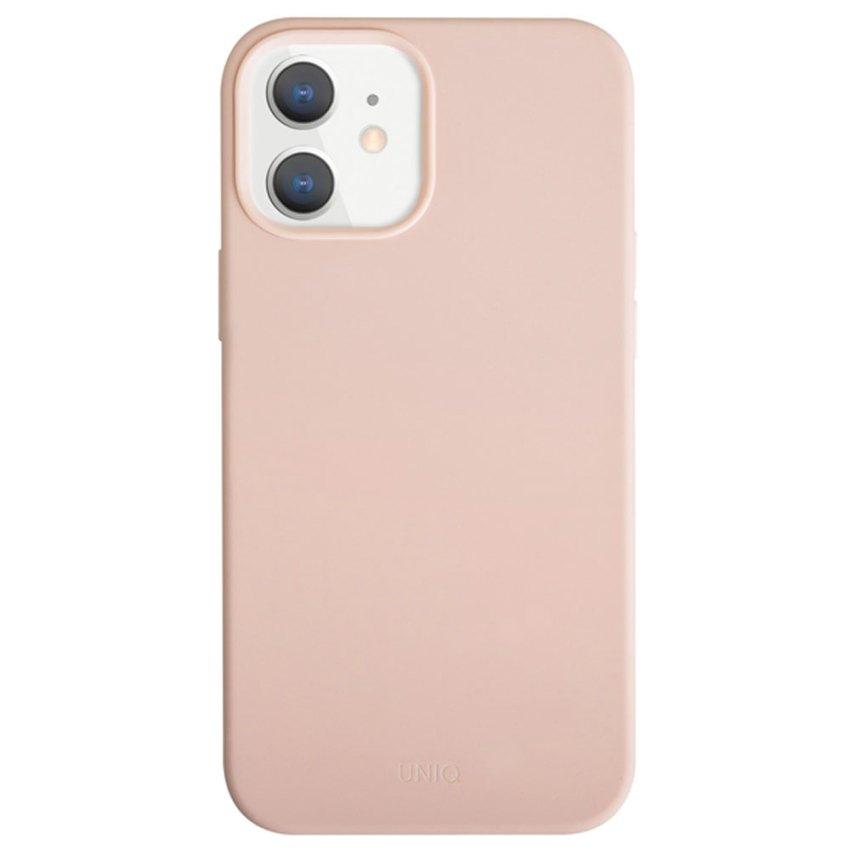 UNIQ-Lino-Hue-case-for-Apple-iPhone-12-Mini-(5.4)---Blush-Pink