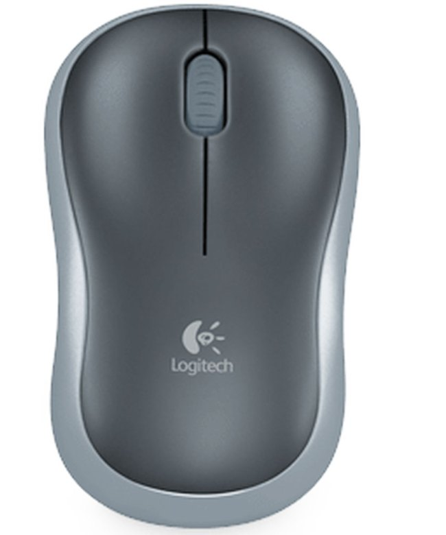 Logitech-M185-Wireless-Mouse---Grey