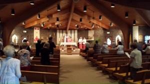 Pentecost am mass