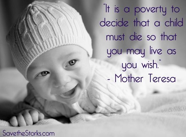 Abortion Mother Teresa