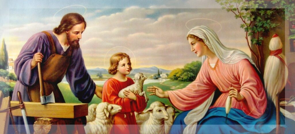 Daily Devotion Monday 22nd February 2021 The Holy Family