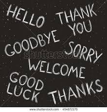 Goodbye Welcome