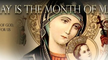May: Month of Our Lady The Blessed Virgin