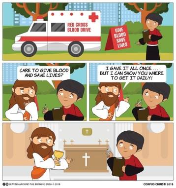 Corpus Christi cartoon