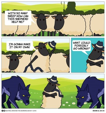 Cartoon Shepherd