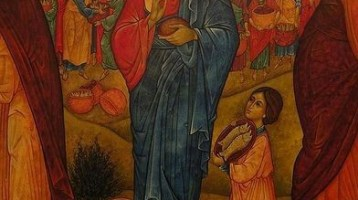 Jesus feeding the 5000