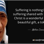 Blog Topic:  A SENSE OF SUFFERING Father Marcin Drabik