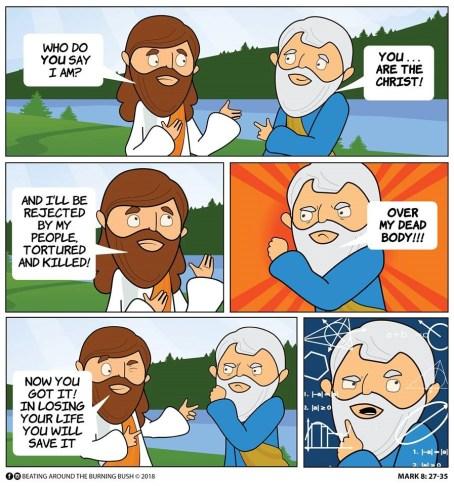 Cartoon Who is Jesus