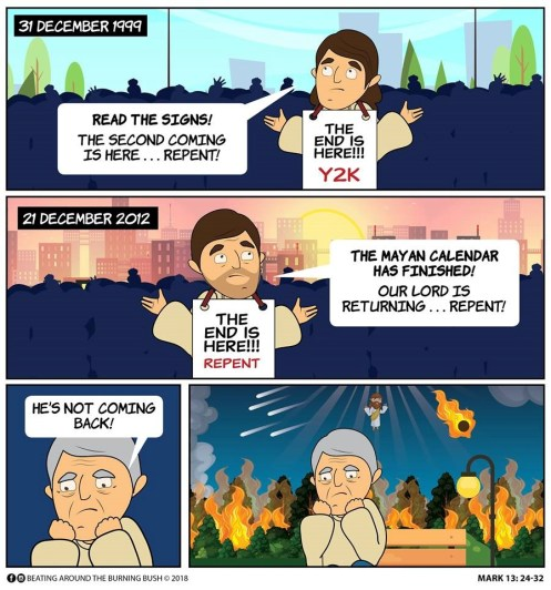 Cartoon - End of the World