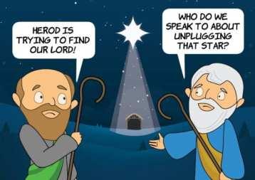 Cartoon epiphany