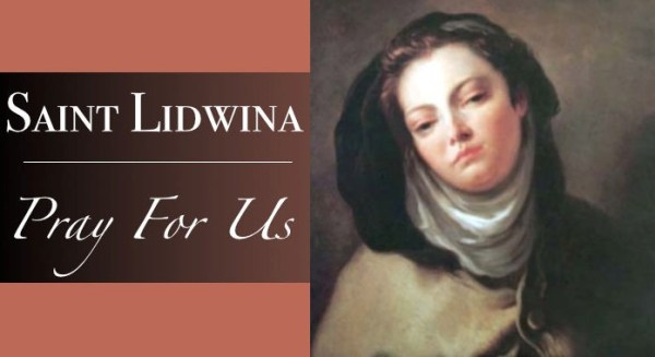 Saint Lidwina