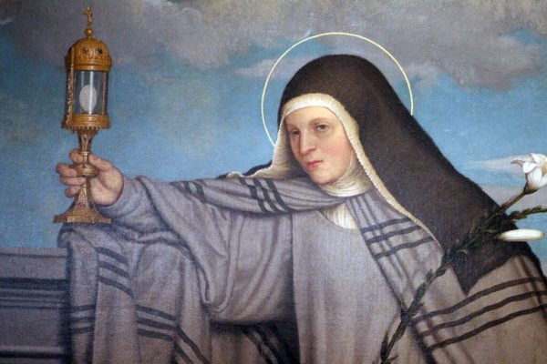 St Clare painting wikicommons 1548 Giovan_battista_moroni,_santa_chiara_d'assisi,_1548,_da_s__michele_a_trento_02