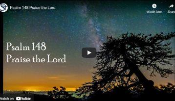 Philip Kosloski - This Psalm praises God for his beautiful creation