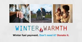 """Appeal - Would you help and """"Donate your Winter Fuel Allowance"""" to our most needy."""