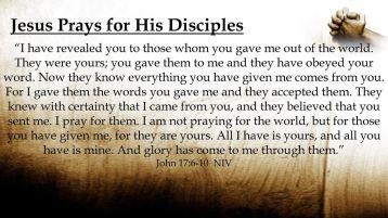 Commentary on John 17:11-19