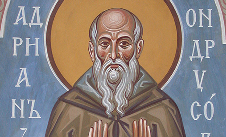 Saint Adrian of Canterbury