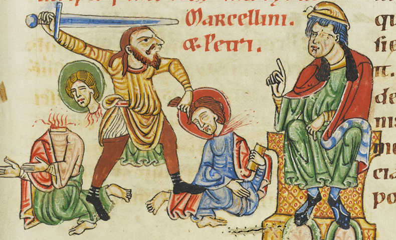 Saints Marcellinus And Peter