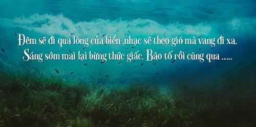 Biển, tình yêu và nỗi nhớ qua những status ý nghĩa nhất