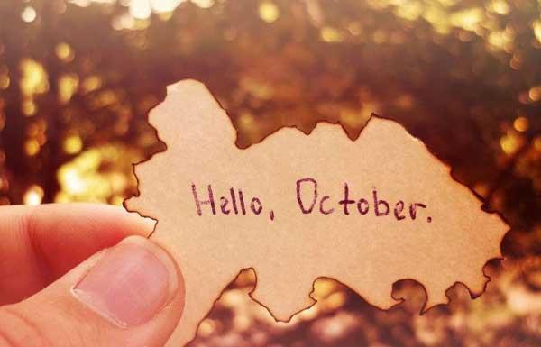 STT tháng 10 cùng những cảm xúc yên bình