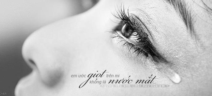 Những stt về giọt nước mắt khiến trái tim rung động