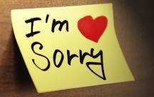Stt suy ngẫm về lời xin lỗi và những câu xin lỗi chân thành nhất