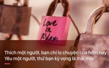 Những stt phân định Đừng nhầm lẫn giữa thích và yêu !