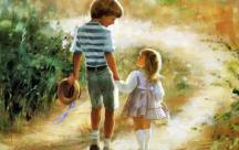 Có anh trai quả thật là một điều rất tuyệt vời, có thêm một người để được chiều chuộng, được yêu thương, có thêm một người để được đổ lỗi trước bố mẹ khi mình làm sai. Và hơn hết có thêm một người để lòng thấy an toàn đến lạ khi có anh trai ở bên lo lắng và bảo vệ. Bởi có anh trai quan tâm nên chẳng muốn lớn một chút nào, cứ muốn bé mãi để được mè nheo với anh, được anh đưa đi chơi và không phải lo lắng bất cứ điều gì sẽ xảy ra cả. Bạn phải thấy may mắn lắm đó, các cô em gái ạ!