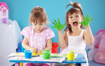 Bí quyết giúp trẻ phân biệt màu sắc, khả năng cảm thụ nghệ thuật