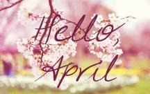 Stt chào tháng 4 Cảm ơn tháng Tư đã mở ra trước mắt ta một cung đường mới