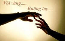 STT tình yêu: Phải chăng ta đã quá vội vàng buông tay