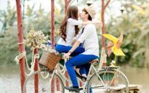 Status ý nghĩa viết cho những cô gái đang yêu Yêu đúng người, cưới đúng chồng